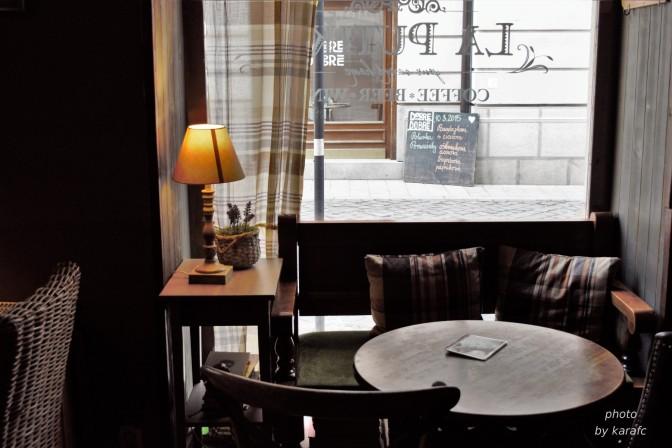 La putika Cafe in Bratislava