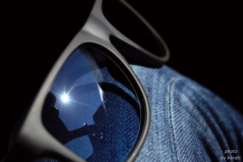 sunglasses, light and reflection