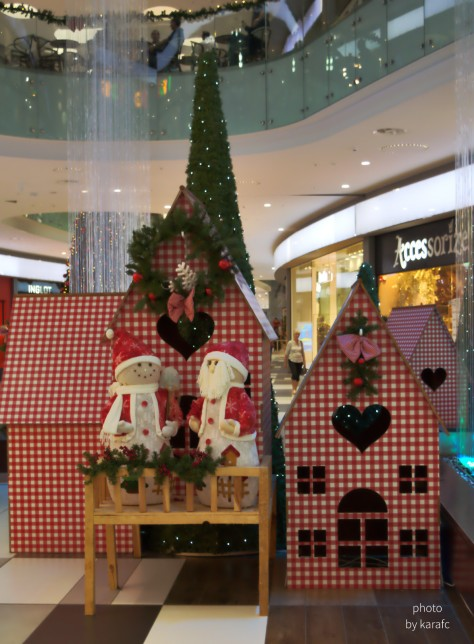 Christmas at King's Avenue Mall, Paphos, Cyprus