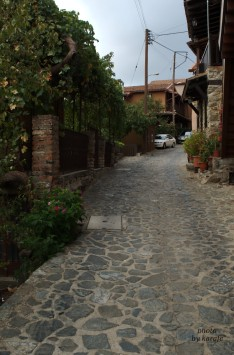 Alley in Kakopetria village, Cyprus