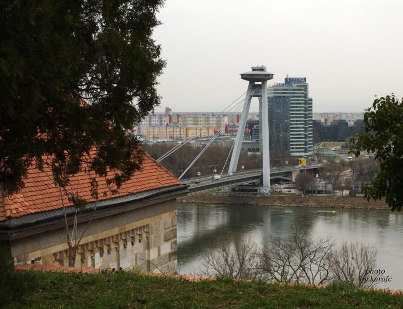 UFO tower,New Bridge, Bratislava