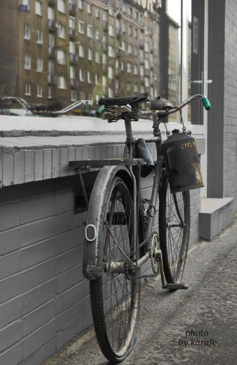 bike of Cafe di Praga, Bratislava, Slovakia