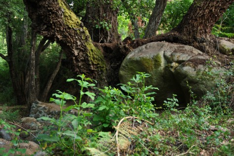 'Vateris' nature trail in Kakopetria village, Cyprus