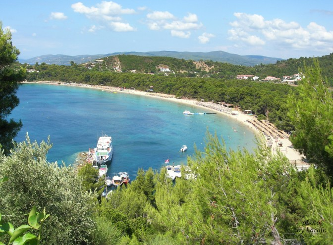 Skiathos, koukounaries beach, Greece