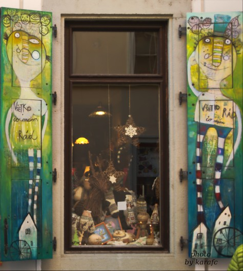 Twigift shop, Klariska 7, Bratislava