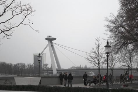 UFO Tower, Bratislava, Slovakia, Europe